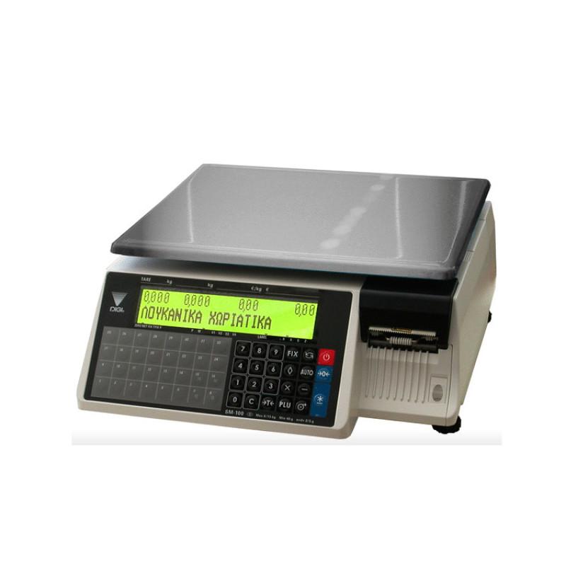 Ζυγός ετικέτας DIGI SM-100-BCS-PLUS-15
